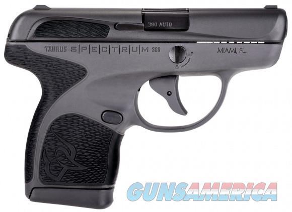 "Taurus Spectrum .380 ACP 2.8"" Gray/Black 1007031201   Guns > Pistols > Taurus Pistols > Semi Auto Pistols > Polymer Frame"