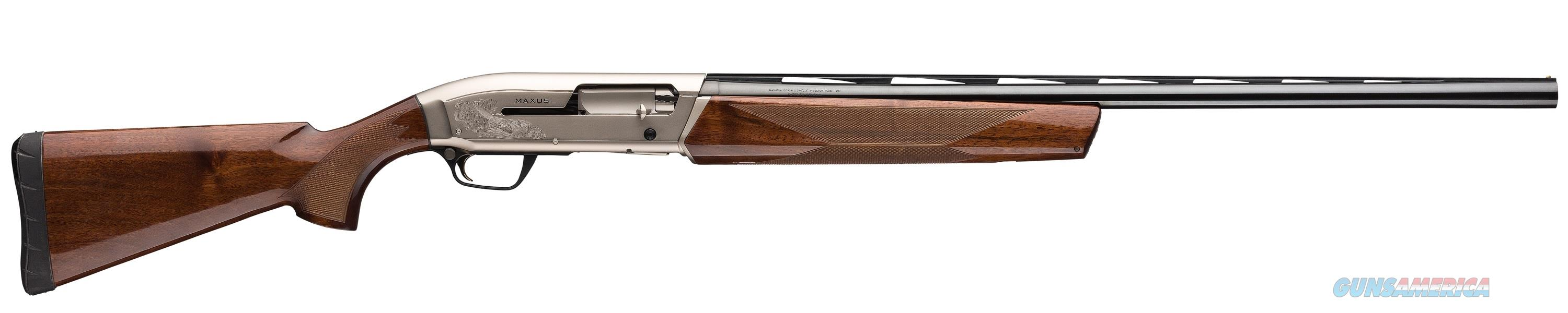 "Browning Maxus Hunter 12 GA 30"" Walnut 011608303  Guns > Shotguns > Browning Shotguns > Autoloaders > Hunting"
