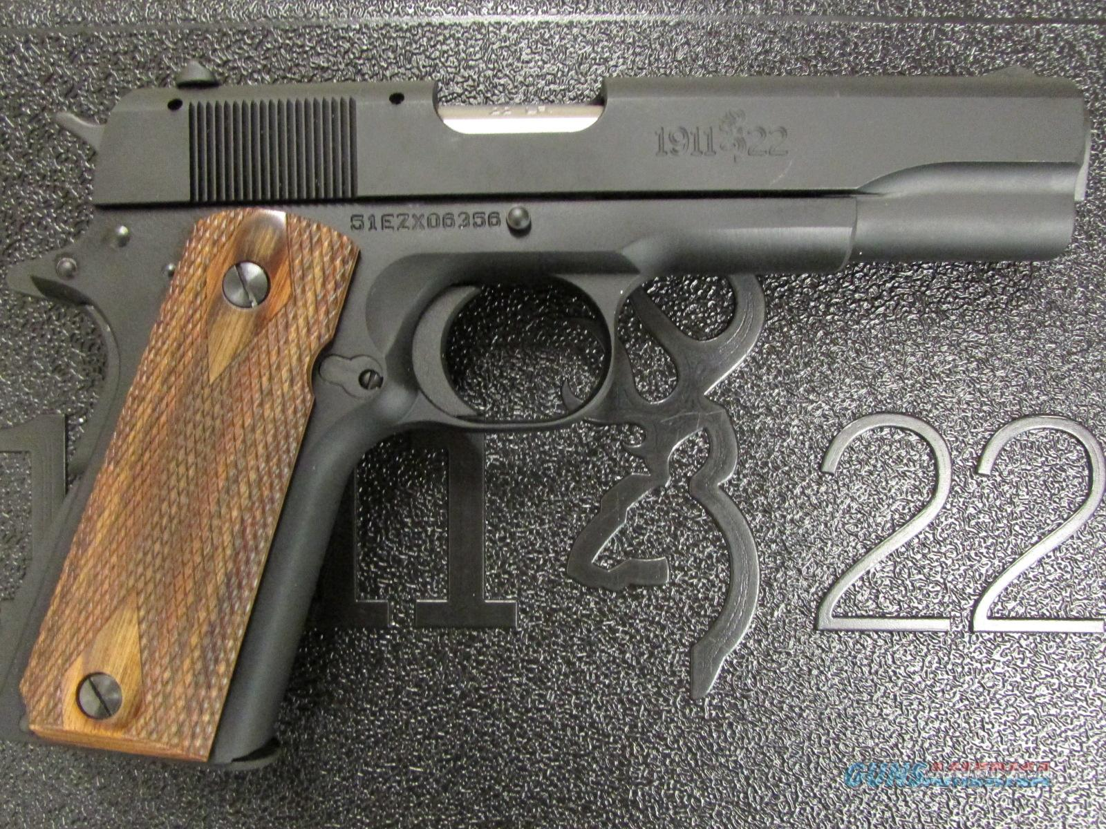 Browning 1911-22 A1 Used .22 LR Pistol  Guns > Pistols > Browning Pistols > Other Autos