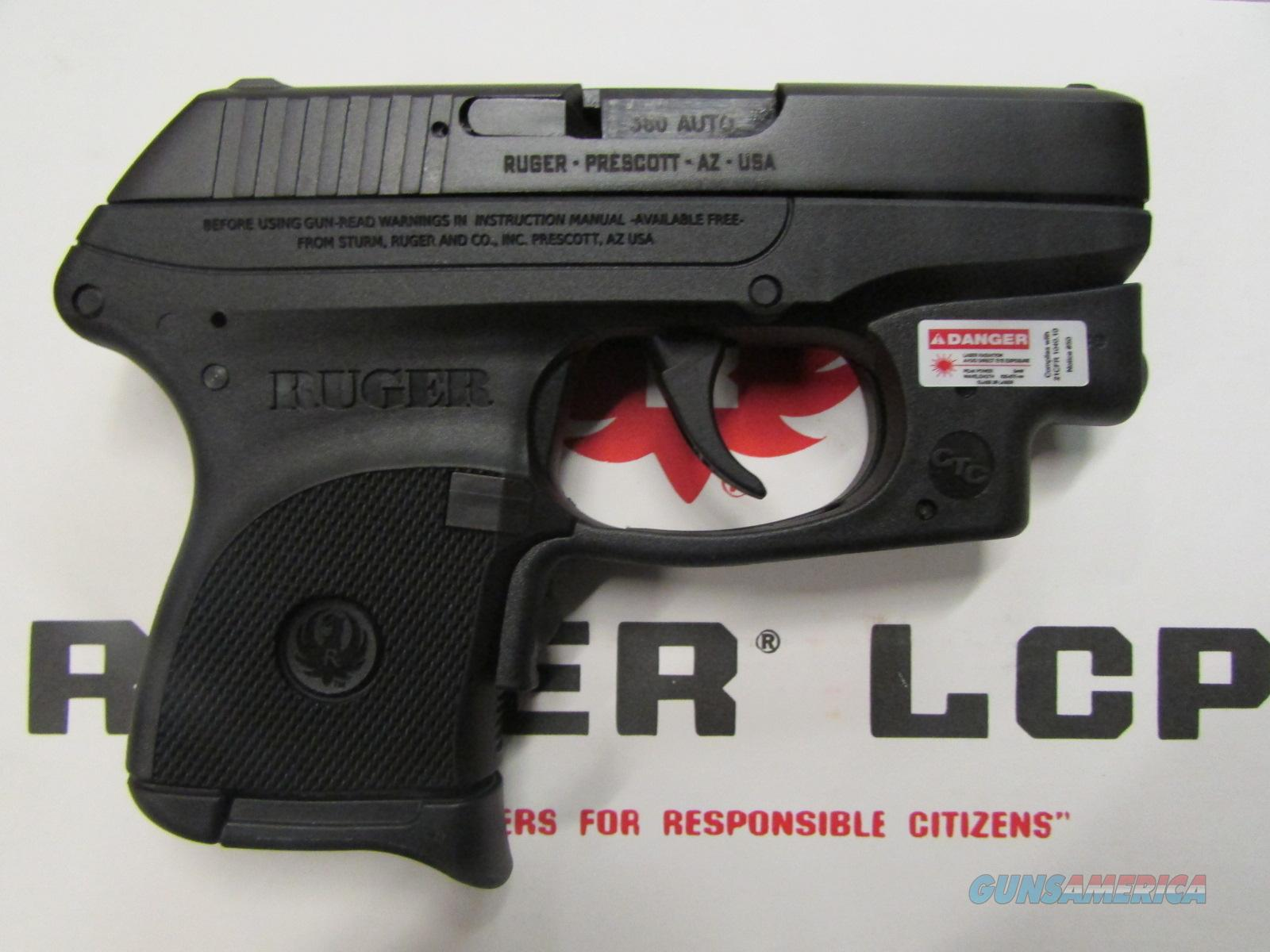 Ruger LCP-CT Crimson Trace .380 3713  Guns > Pistols > Ruger Semi-Auto Pistols > LCP
