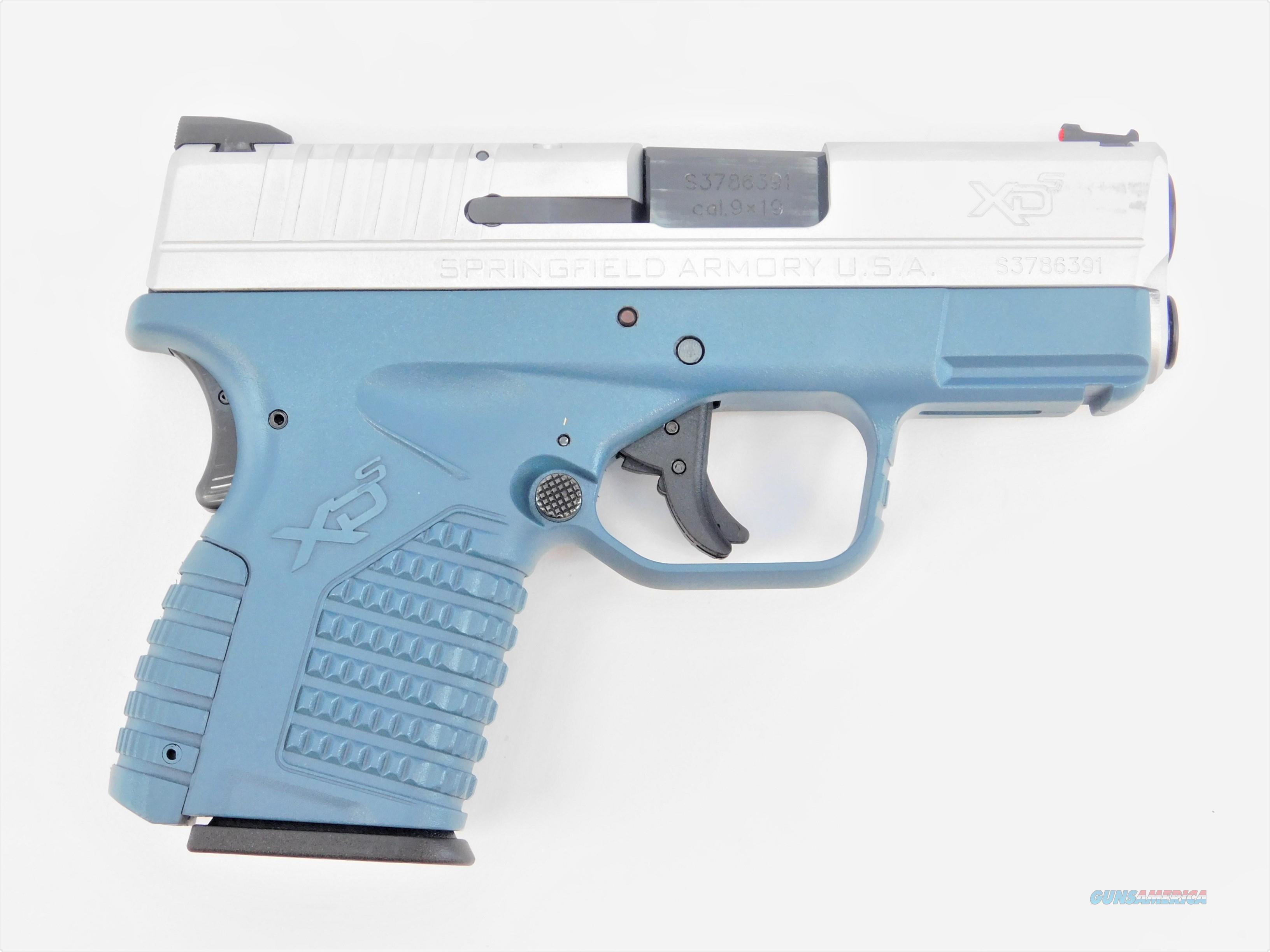 "Springfield Armory XD-S Bi-tone 9mm Cerakoted 3.3"" XDS9339SE  Guns > Pistols > Springfield Armory Pistols > XD-S"