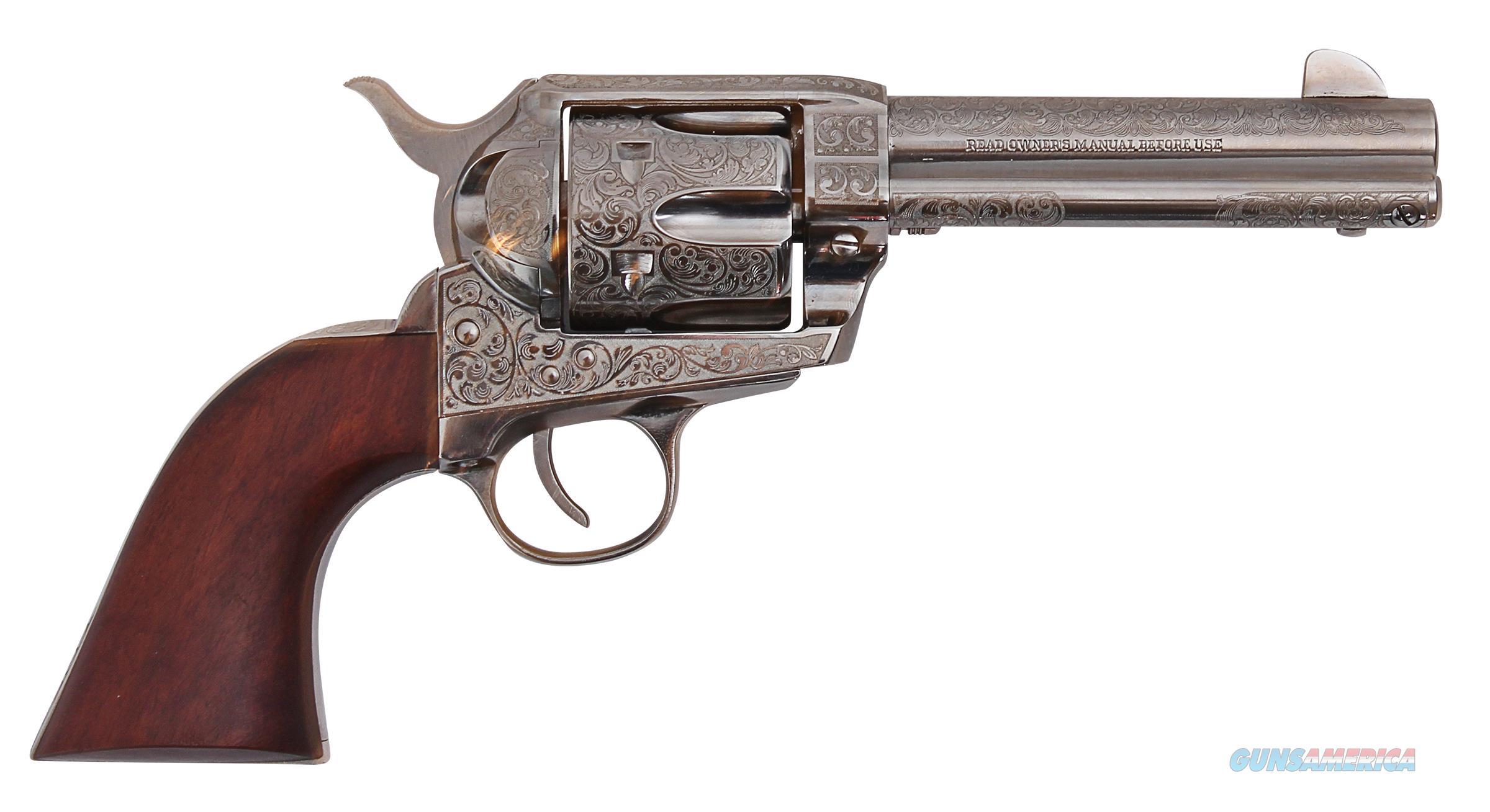 "TRADITIONS 1873 SA Frontier 4.75"" NICKEL .45 Colt  SAT73-141/LE  Guns > Pistols > Traditions Pistols"