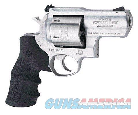 """Ruger Super Redhawk Alaskan Stainless .454 Casull 2.5"""" 5301  Guns > Pistols > Ruger Double Action Revolver > Redhawk Type"""