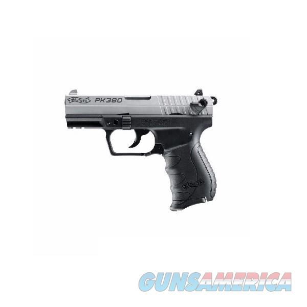 """Walther Arms PK380 3.66"""" Nickel .380 ACP 505.03.09  Guns > Pistols > Walther Pistols > Post WWII > PK380"""