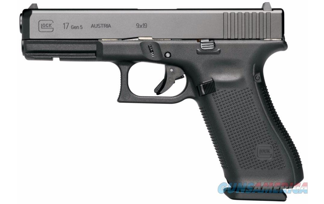 """Glock G17 Gen 5 9MM 17 Rds 4.49"""" Night Sights PA1750703  Guns > Pistols > Glock Pistols > 17"""