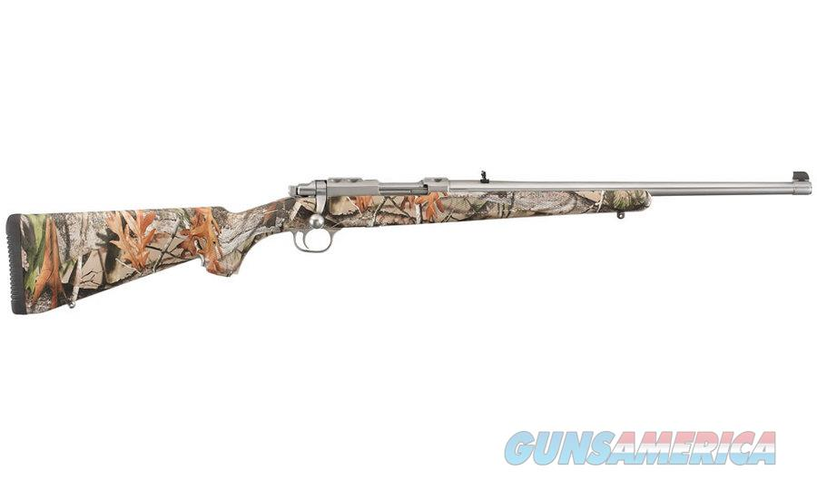 Ruger M77/44 Bolt-Action .44 Magnum Camo SS 7408  Guns > Rifles > Ruger Rifles > Model 77