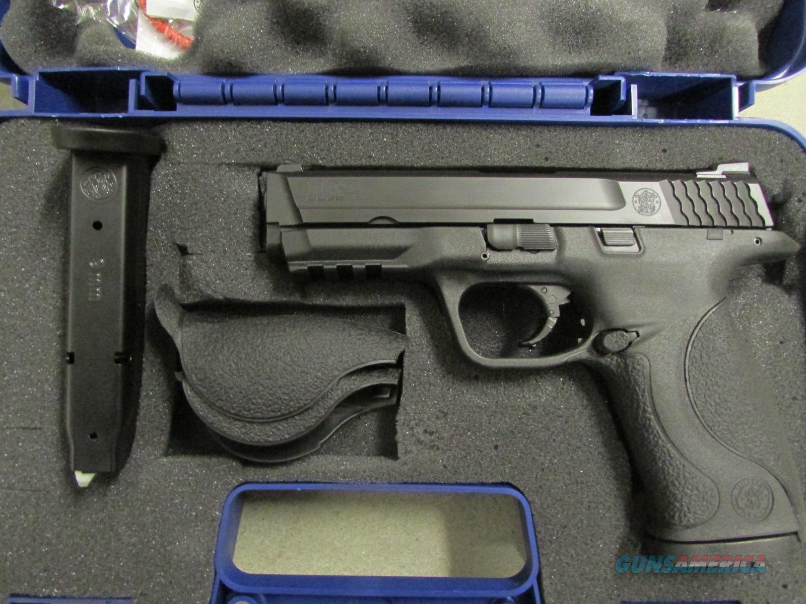 "Smith & Wesson M&P9 9mm 4.25"" No Safety  Guns > Pistols > Smith & Wesson Pistols - Autos > Polymer Frame"