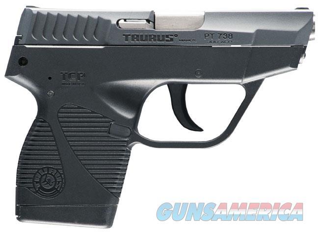 Taurus TCP .380 ACP Blued 1-738031FS  Guns > Pistols > Taurus Pistols > Semi Auto Pistols > Polymer Frame