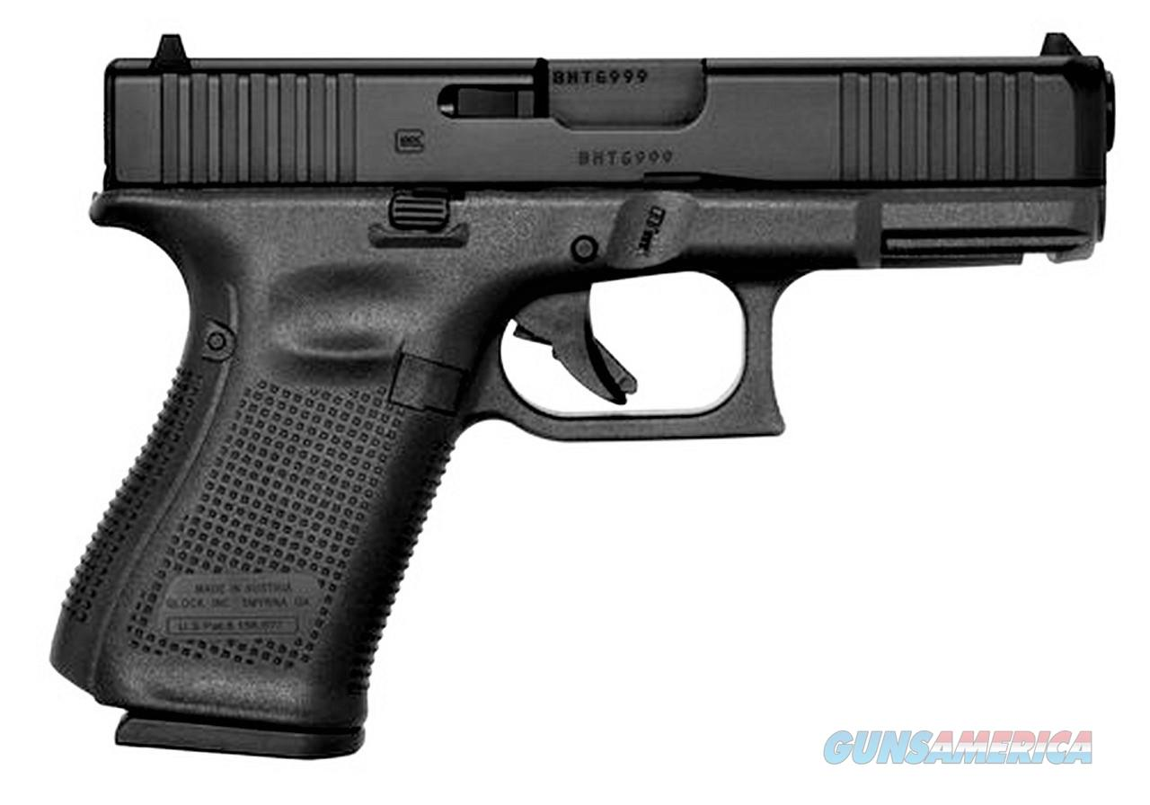 "Glock G19 Gen 5 9mm Luger 4.02"" 15 Rounds PA195S203  Guns > Pistols > Glock Pistols > 19/19X"