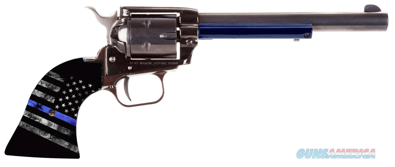 "Heritage Rough Rider Thin Blue Line .22 LR 6.5"" RR22B6TBL   Guns > Pistols > Heritage"