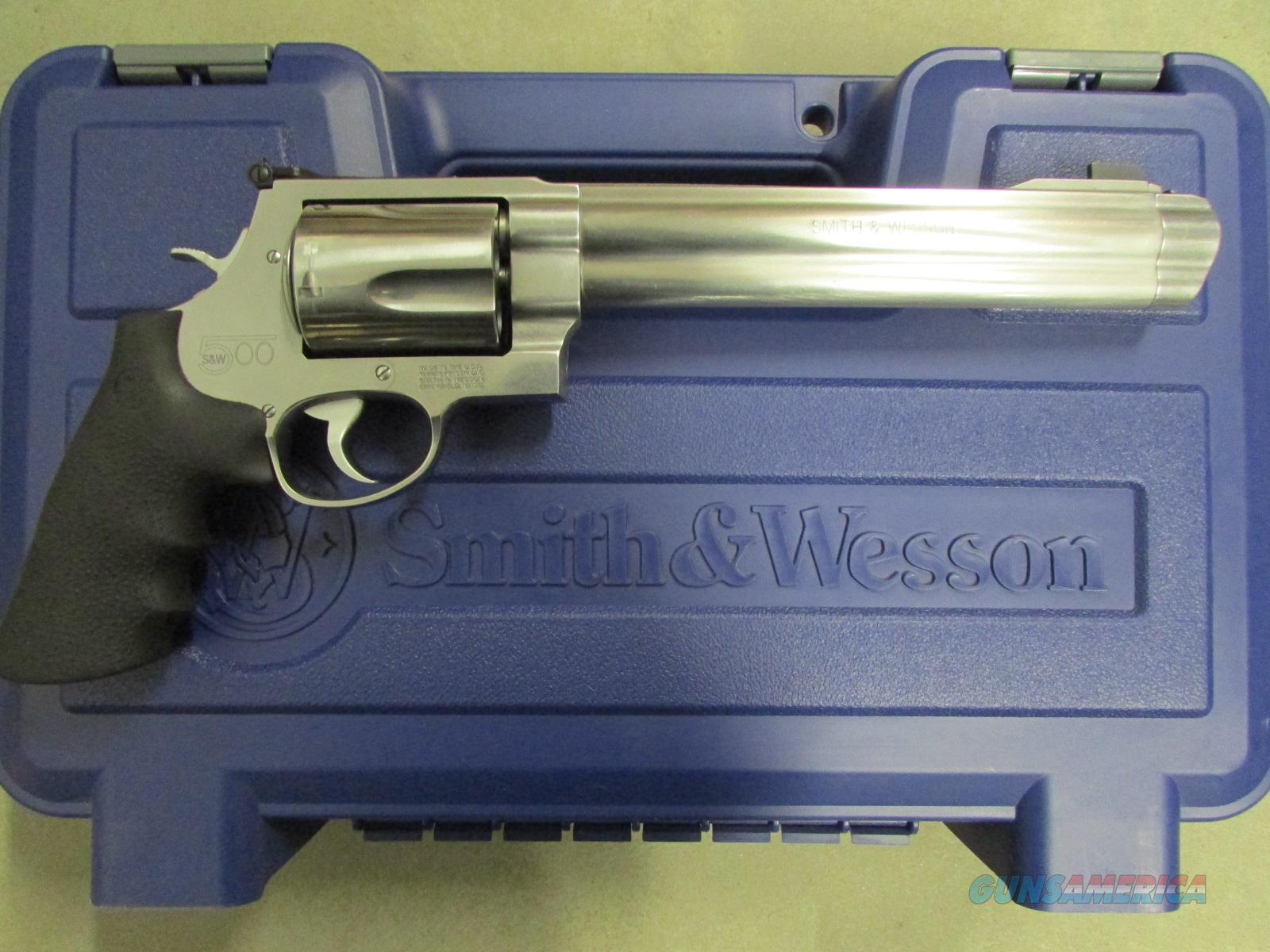 "Smith & Wesson Model 500 8.3"" Stainless .500 S&W Magnum  Guns > Pistols > Smith & Wesson Revolvers > Full Frame Revolver"