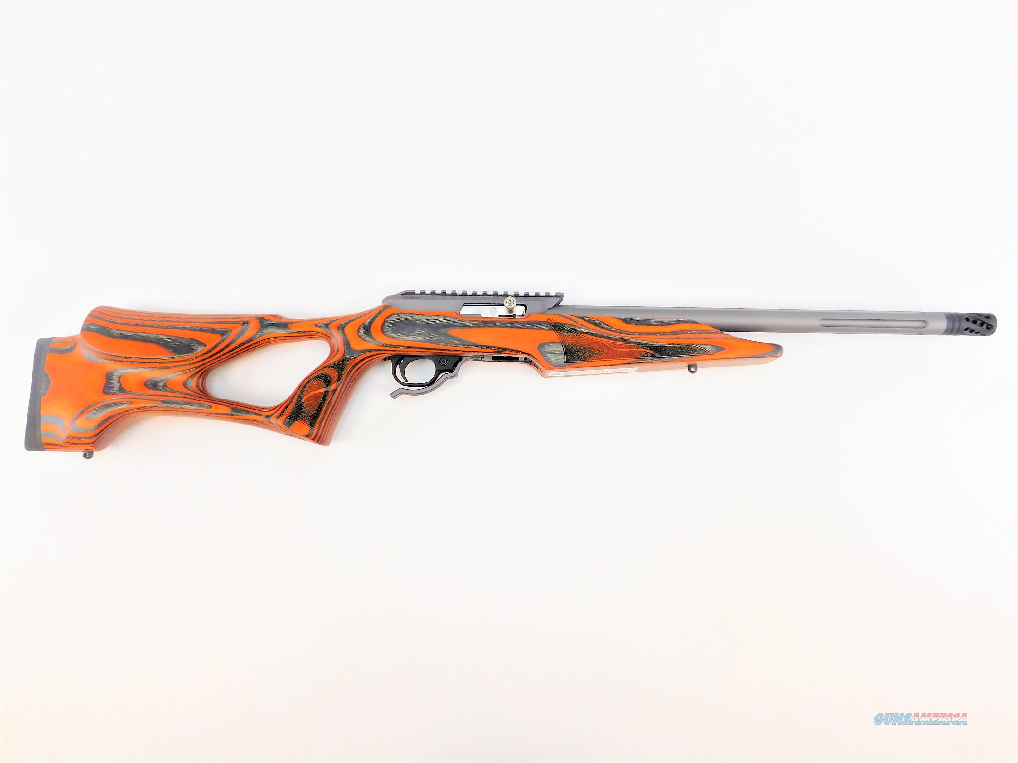"Tactical Solutions X-Ring Vantage 16.5"" Compensator Orange/Gun Metal Gray ATEGMGBVORGPCMP   Guns > Rifles > Ruger Rifles > 10-22"