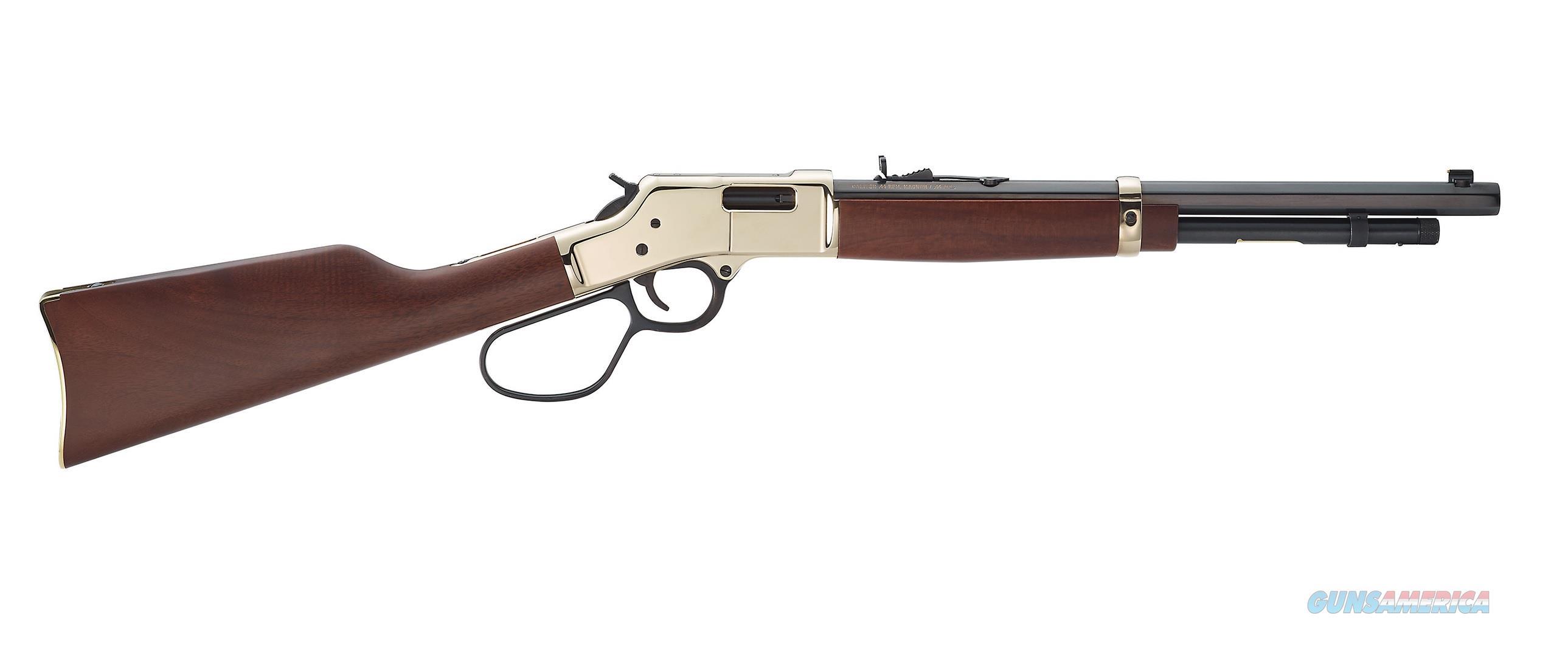 "Henry Big Boy Carbine .357 Magnum/.38 Special 16.5"" H006MR  Guns > Rifles > Henry Rifle Company"