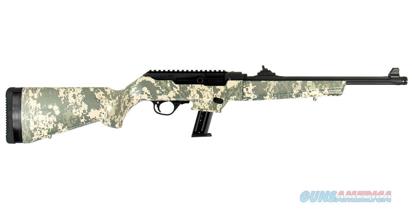 "Ruger PC Carbine 9mm Luger 16.12"" TB Digital Camo 17 Rds 19107  Guns > Rifles > Ruger Rifles > M44/Carbine"