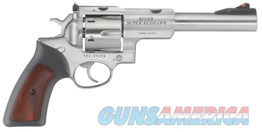 "Ruger Super Redhawk 10mm 6.5"" Stainless 6rds 5524   Guns > Pistols > Ruger Double Action Revolver > Redhawk Type"