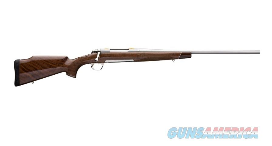 """Browning X-Bolt White Gold Medallion .338 Win Mag 26"""" SS 035235231   Guns > Rifles > Browning Rifles > Bolt Action > Hunting > Stainless"""