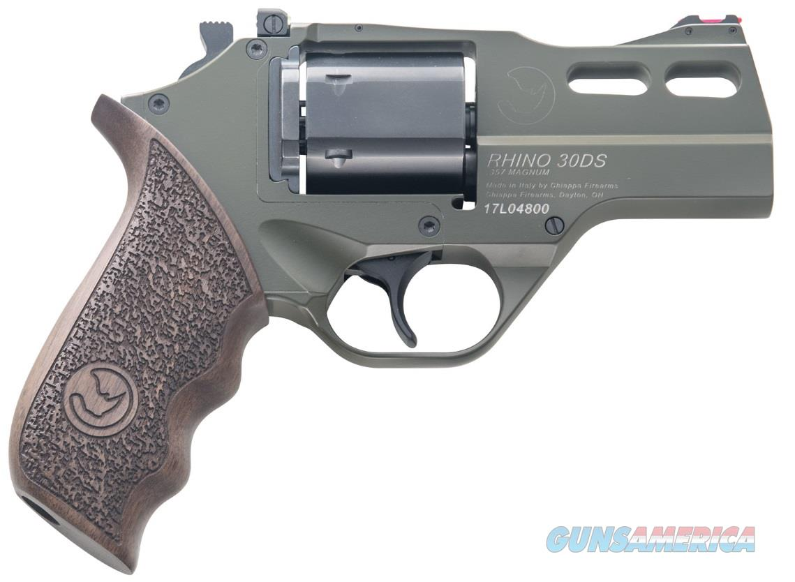 "Chiappa Rhino 30DS SAR .357 Magnum OD Green 3"" CF340.285  Guns > Pistols > Chiappa Pistols & Revolvers > Rhino Models"