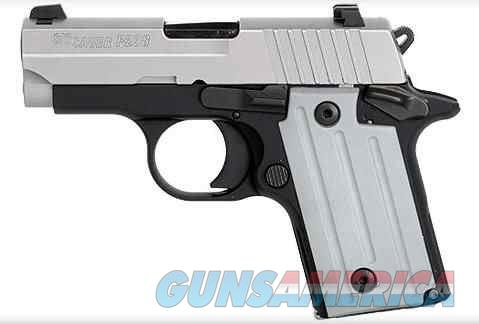 Sig Sauer P238 Two-Tone CA Approved .380 ACP 238-380-TSS-CA   Guns > Pistols > Sig - Sauer/Sigarms Pistols > P238