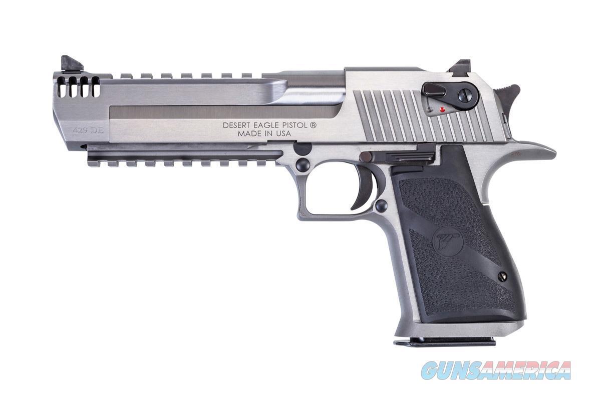 """Magnum Research Desert Eagle 429 DE 6"""" SS Muzzle Brake DE429SRMB   Guns > Pistols > Magnum Research Pistols"""