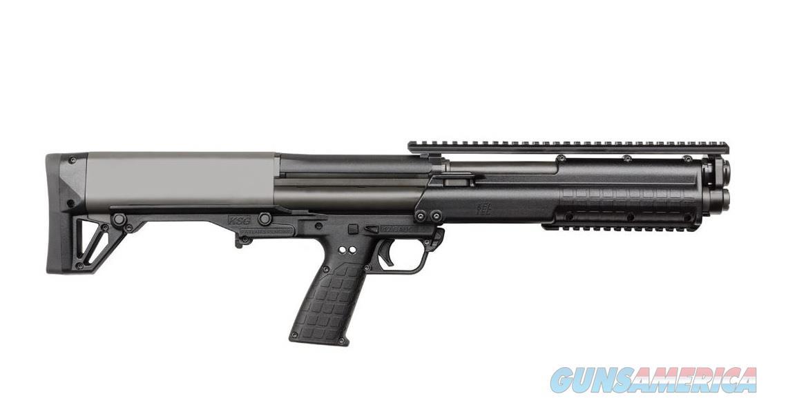 """Kel-Tec KSG 12 Gauge Pump Action 18.5"""" 12 Rds KSGBLK  Guns > Shotguns > Kel-Tec Shotguns > KSG"""