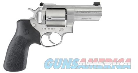 "Ruger GP100 .44 Special 3"" SS 5Rd Fiber Optic 1761  Guns > Pistols > Ruger Double Action Revolver > GP100"