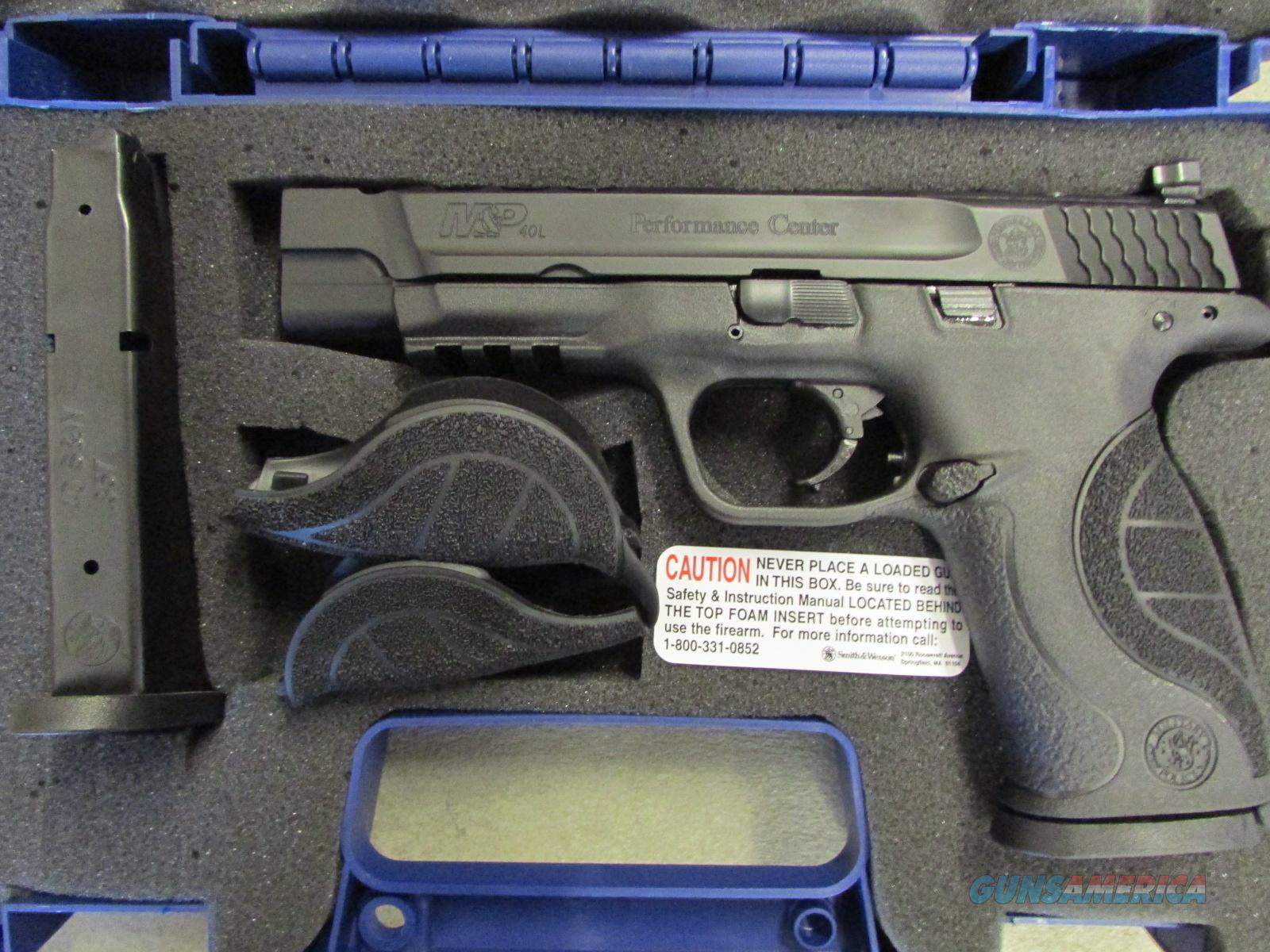 Smith & Wesson M&P40 Performance Center Ported .40 S&W 10100  Guns > Pistols > Smith & Wesson Pistols - Autos > Polymer Frame