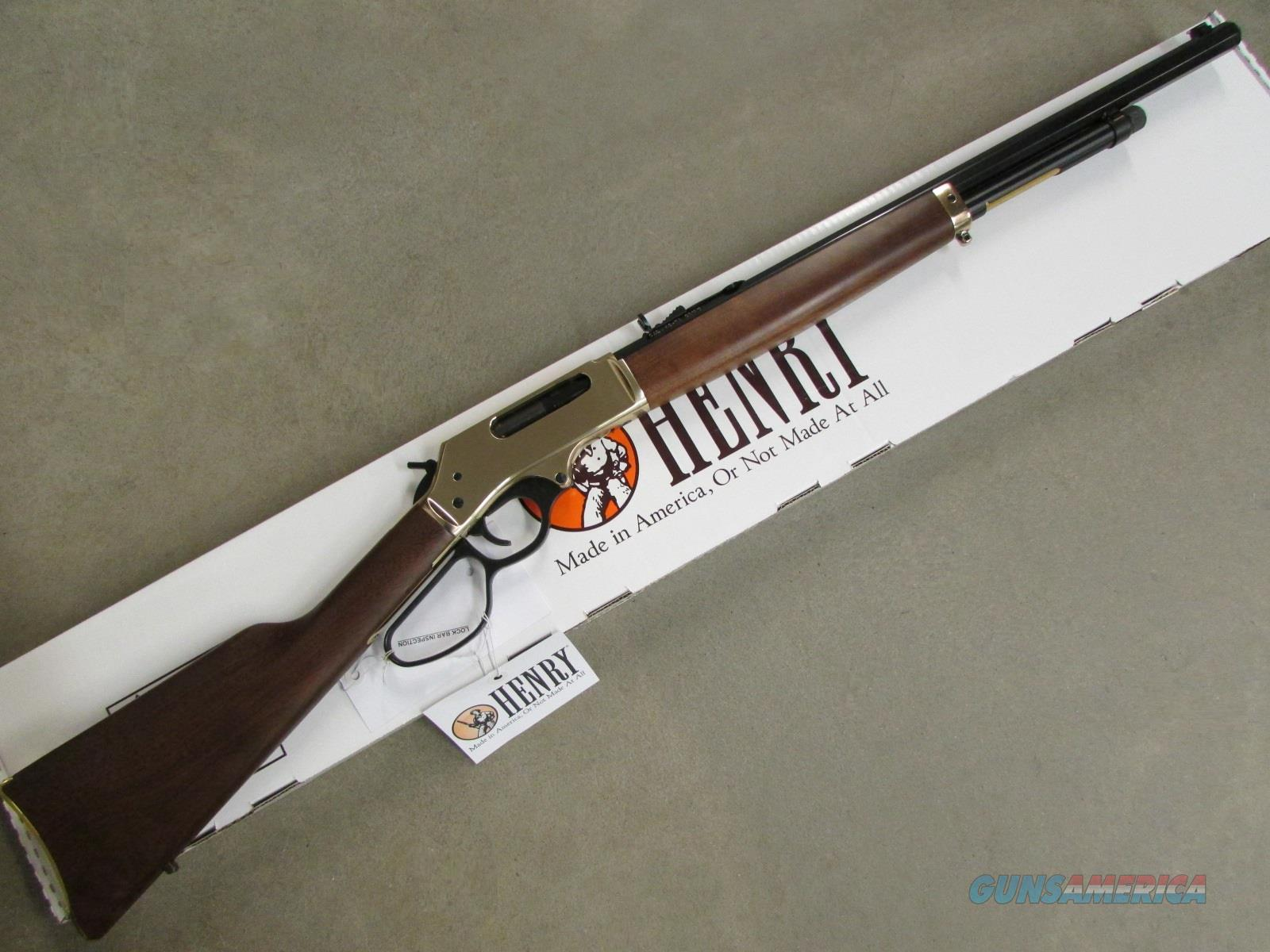 "Henry .45-70 Lever Action 22"" Octagon Brass Receiver H010B   Guns > Rifles > Henry Rifle Company"