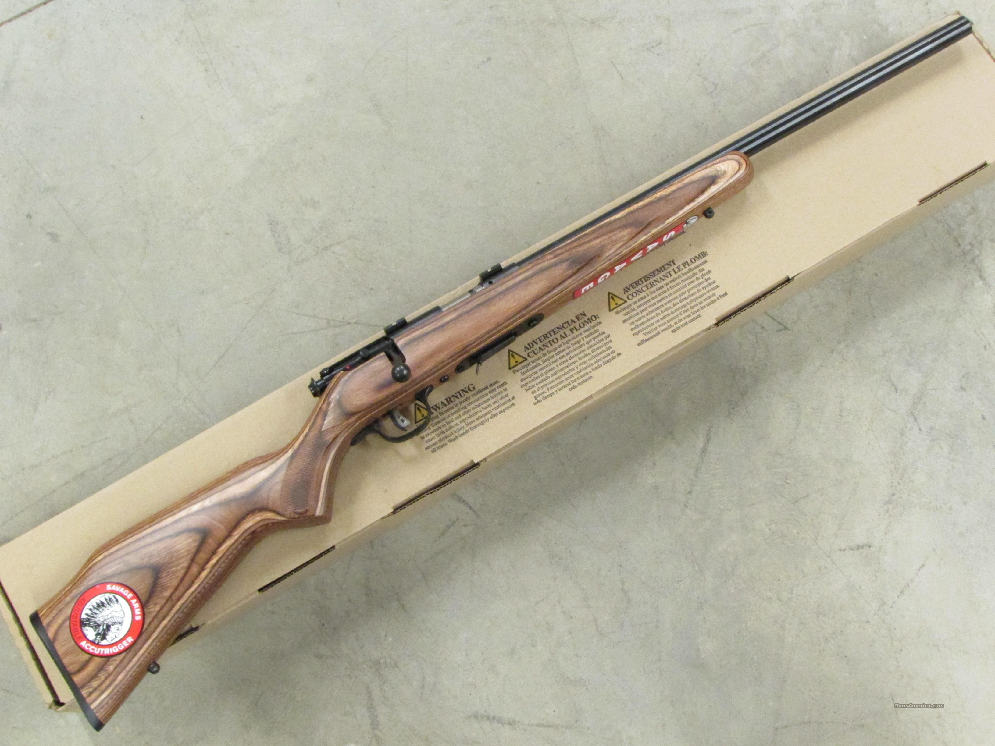 Savage Model 93R17-BV Blued Bull-Barrel .17 HMR 96734  Guns > Rifles > Savage Rifles > Accutrigger Models > Sporting