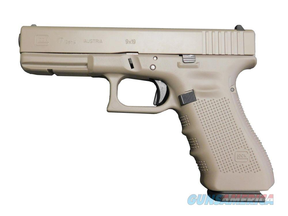 "Glock 17 Gen4 Elite Earth Cerakote 9mm 4.49"" PG1750203EA  Guns > Pistols > Glock Pistols > 17"