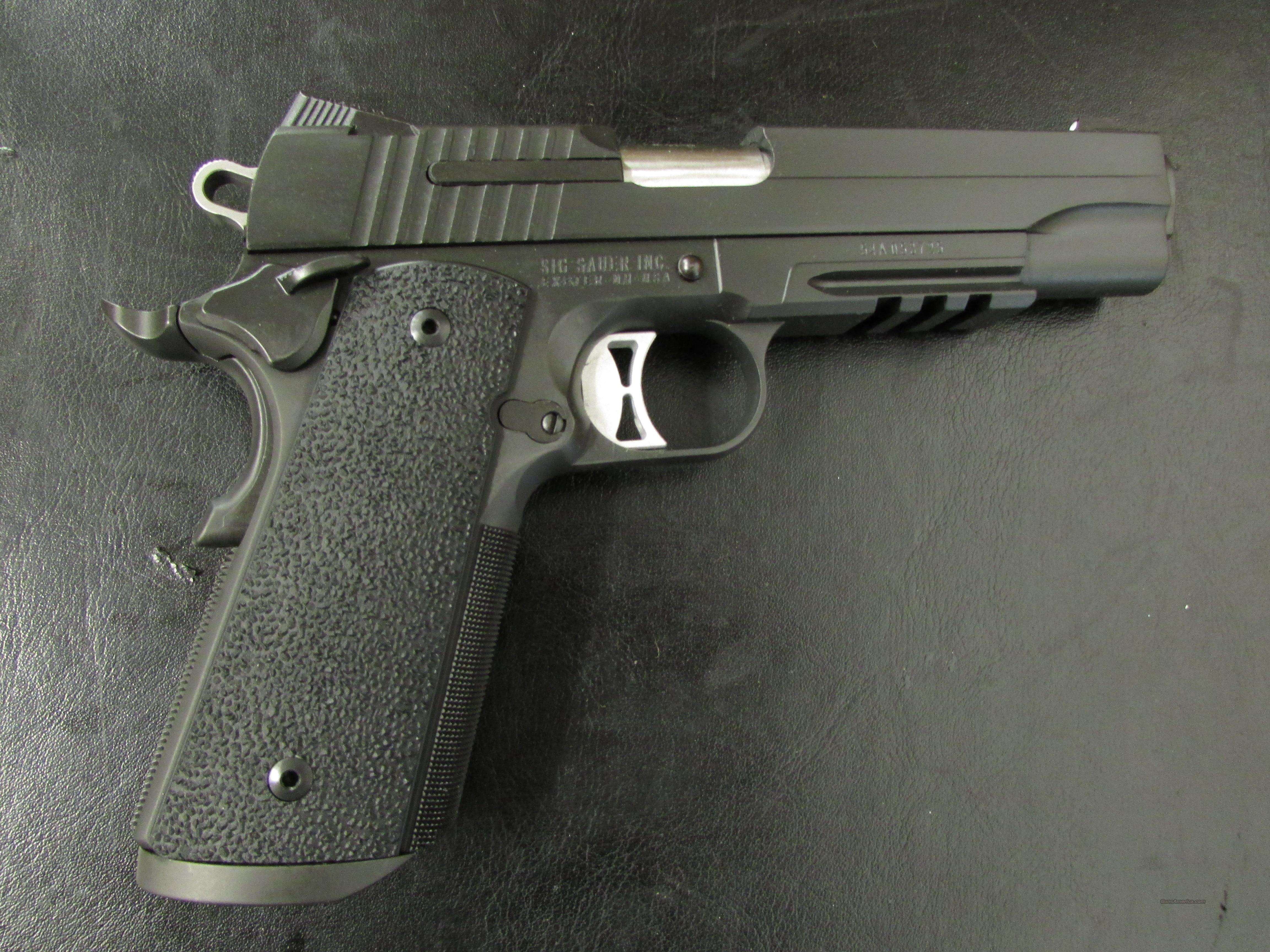 Sig Sauer Tactical Operations 1911 .45ACP  Guns > Pistols > Sig - Sauer/Sigarms Pistols > 1911