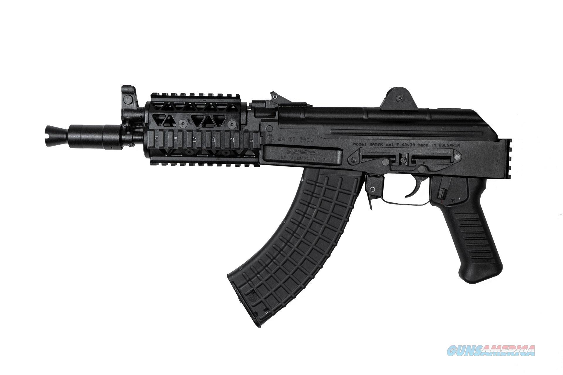 """Arsenal SAM7K 7.62x39mm Quad Rail 10.5"""" SAM7K-04R   Guns > Pistols > A Misc Pistols"""