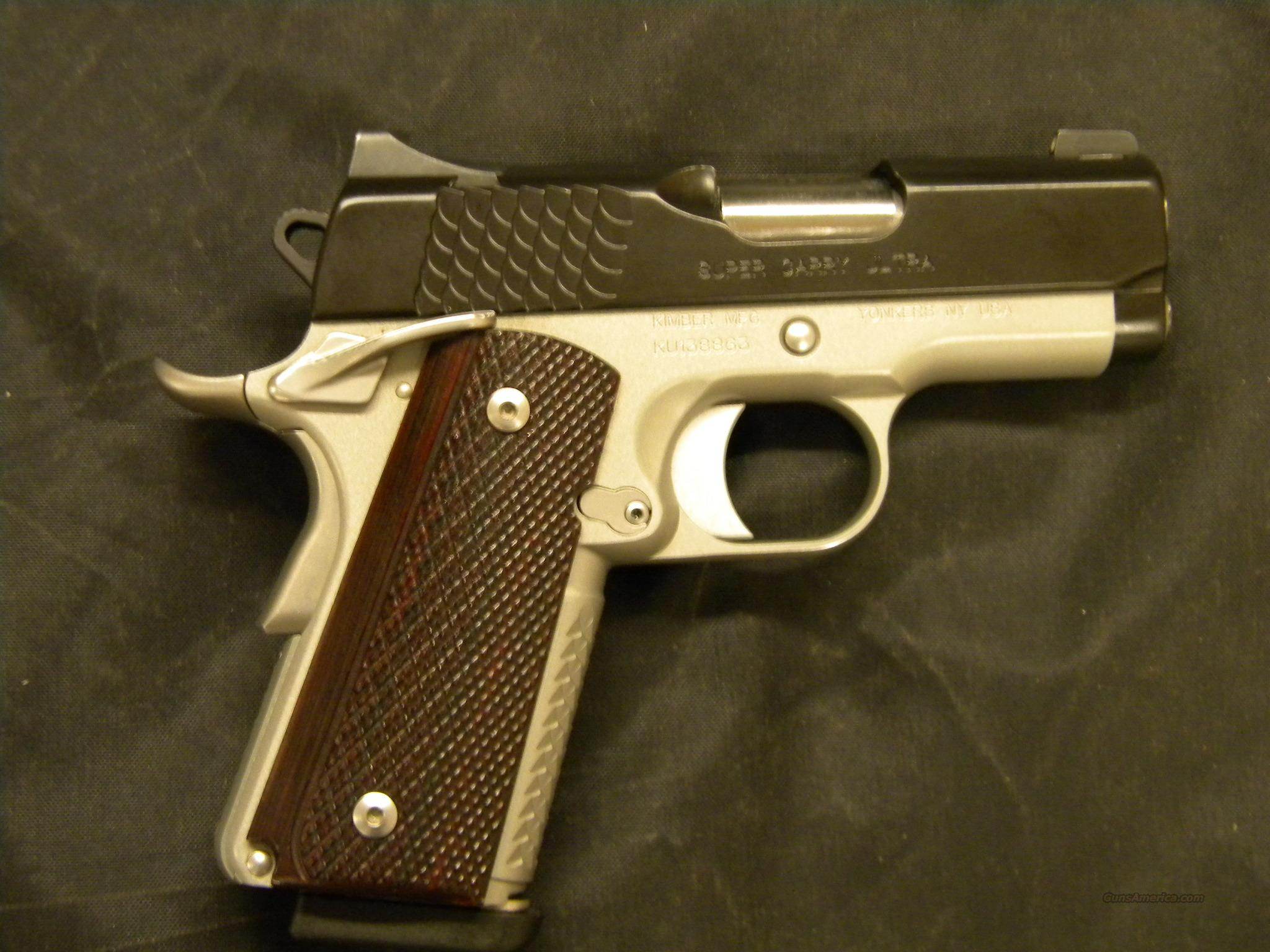 USED KIMBER SUPER CARRY ULTRA .45ACP  Guns > Pistols > Kimber of America Pistols