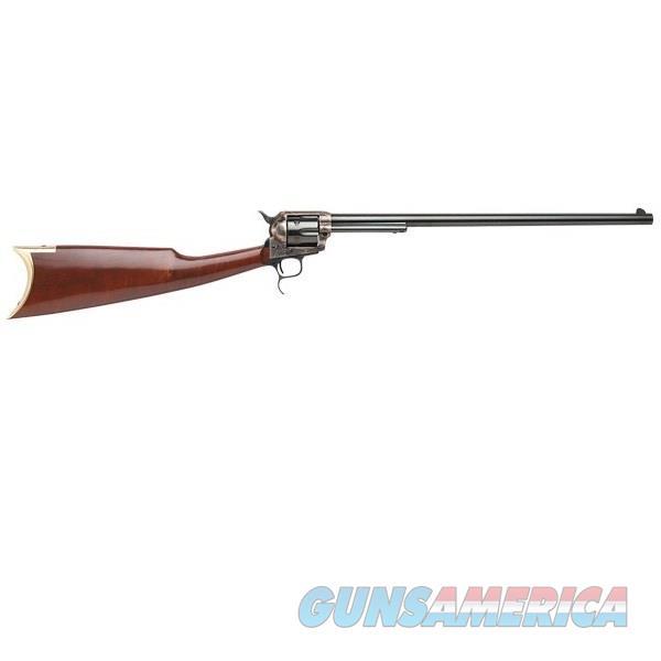 "Taylor's & Co. / Uberti Cattleman Revolving Carbine .45 LC 18"" RIF0419   Guns > Pistols > Uberti Pistols > Percussion"