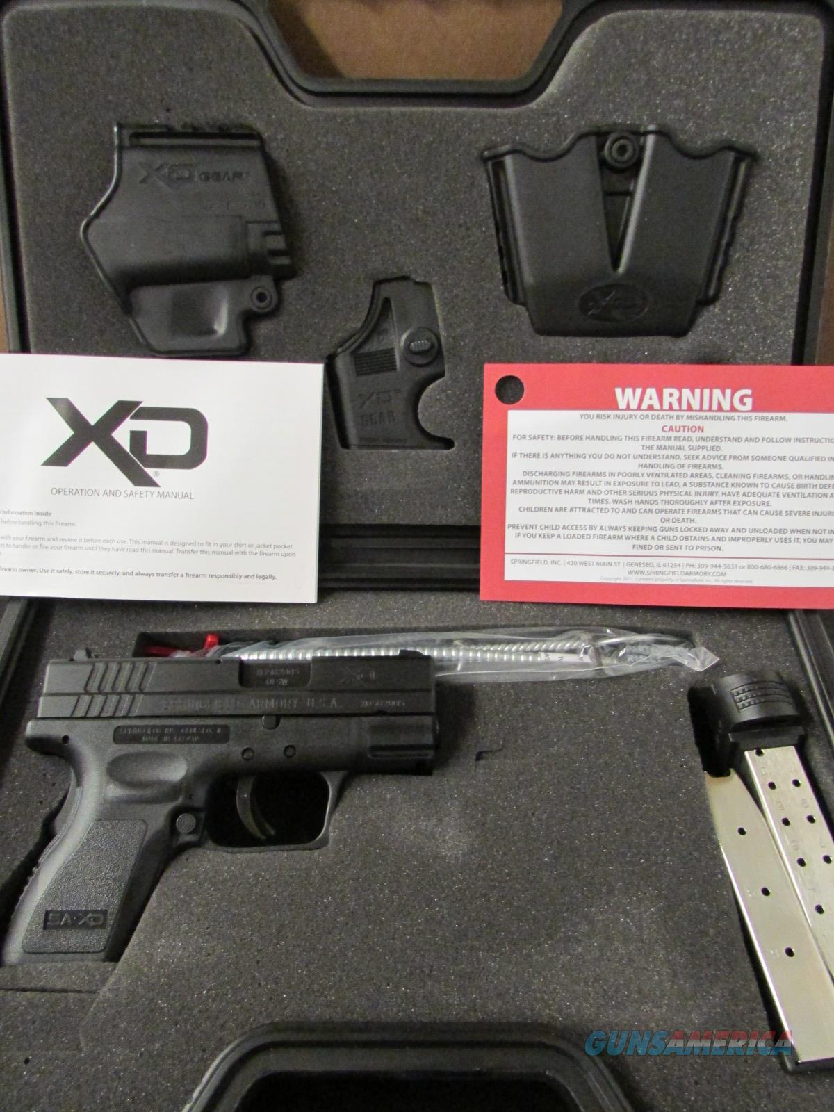 "Springfield Armory XD Sub-Compact 3"" .40 S&W XD9802HCSP06  Guns > Pistols > Springfield Armory Pistols > XD (eXtreme Duty)"