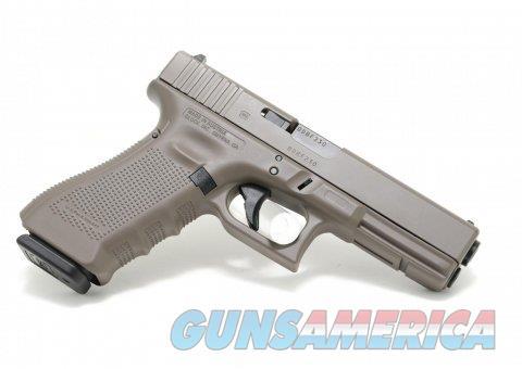 "Glock 17 Gen4 Elite Earth Cerakote 9mm 4.49"" PG1750203EA  Guns > Pistols > Glock Pistols > 17"