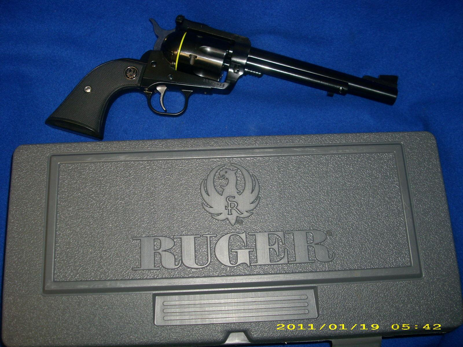 Ruger BN-36XL 357Mag/9mm  Guns > Pistols > Ruger Double Action Revolver > Redhawk Type