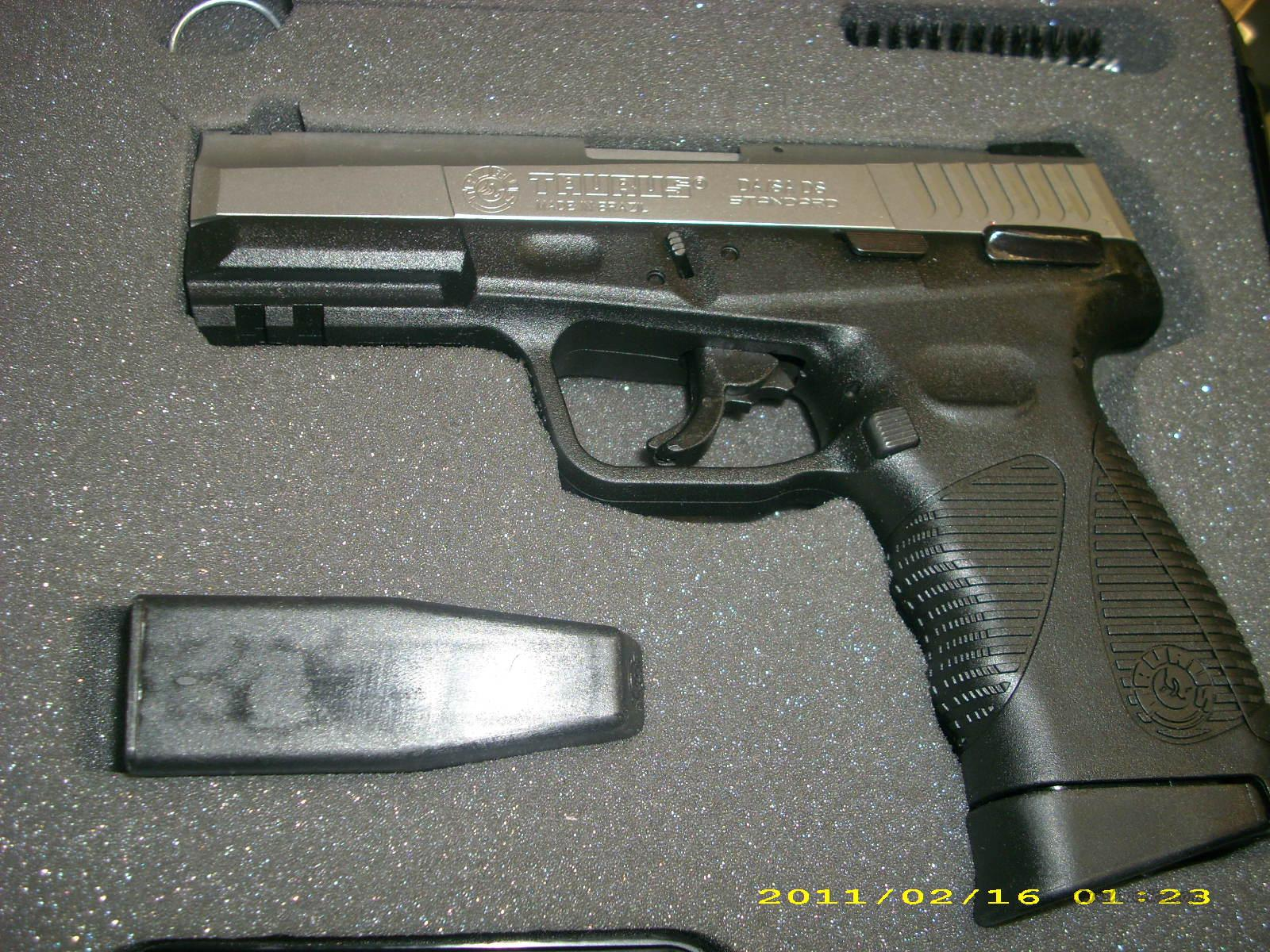 Taurus PT 24/7 in Stainless or Blued 9mm   Guns > Pistols > Taurus Pistols/Revolvers > Pistols > Polymer Frame