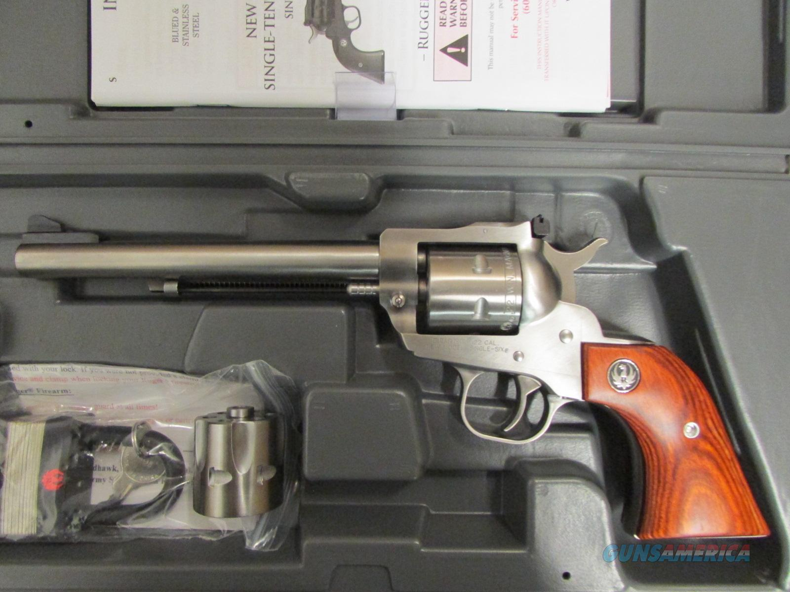Ruger New Model Single-Six .22 LR/.22 Magnum  Guns > Pistols > Ruger Single Action Revolvers > Single Six Type