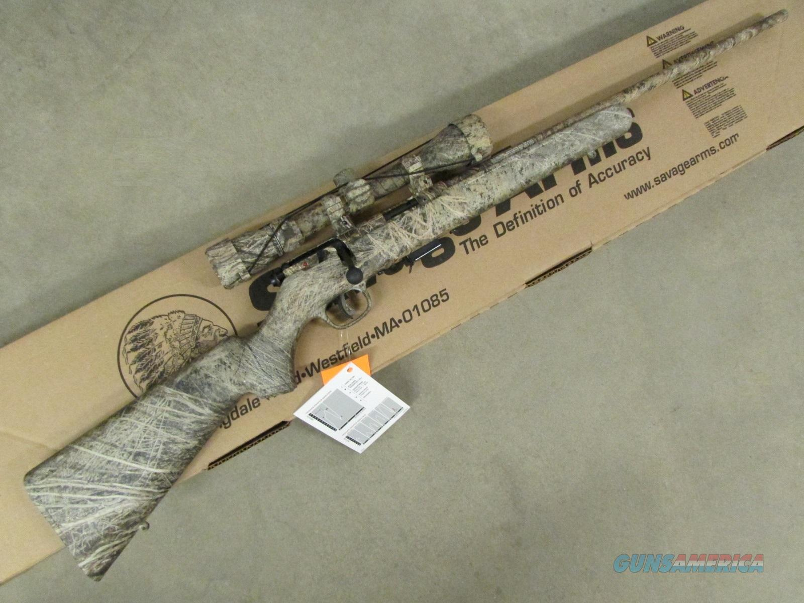 Savage Model 93 XP Camo Brush w/ 3-9x40mm Scope .22 WMR 90755  Guns > Rifles > Savage Rifles > Accutrigger Models > Sporting