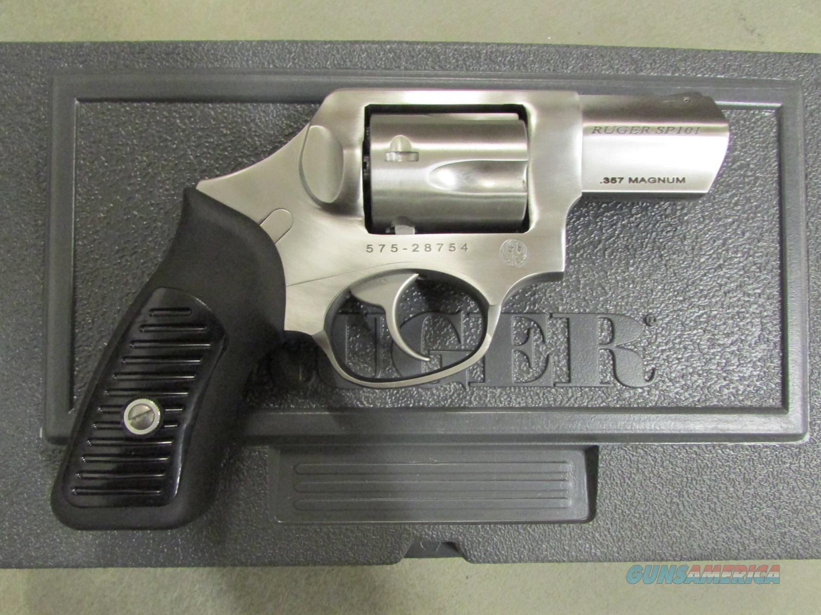 "Ruger SP101 Double-Action 2.25"" Stainless .357 Magnum 5720  Guns > Pistols > Ruger Double Action Revolver > SP101 Type"