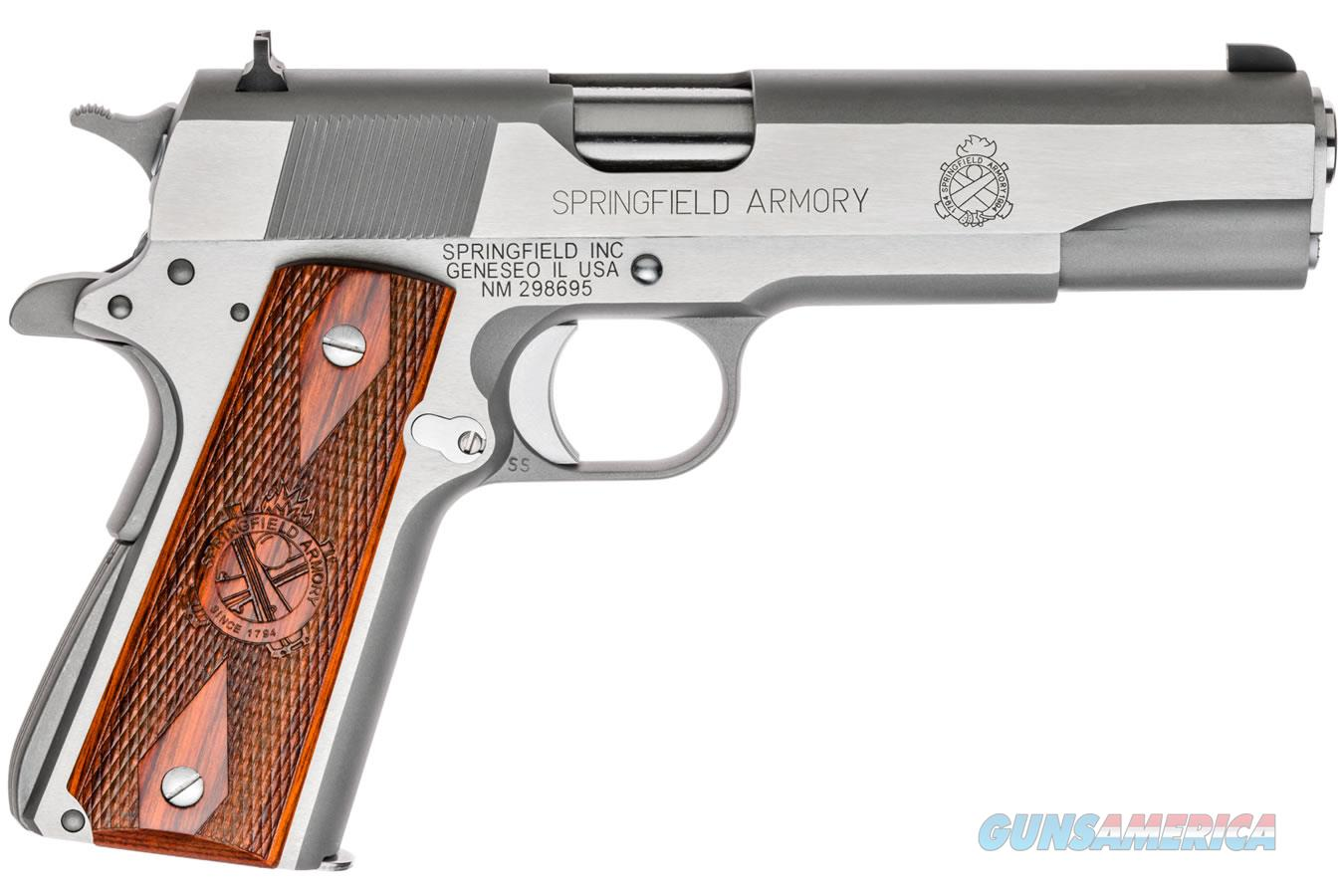 "Springfield 1911 Mil-Spec .45 ACP SS/Cocobolo  5"" PB9151L   Guns > Pistols > Springfield Armory Pistols > 1911 Type"