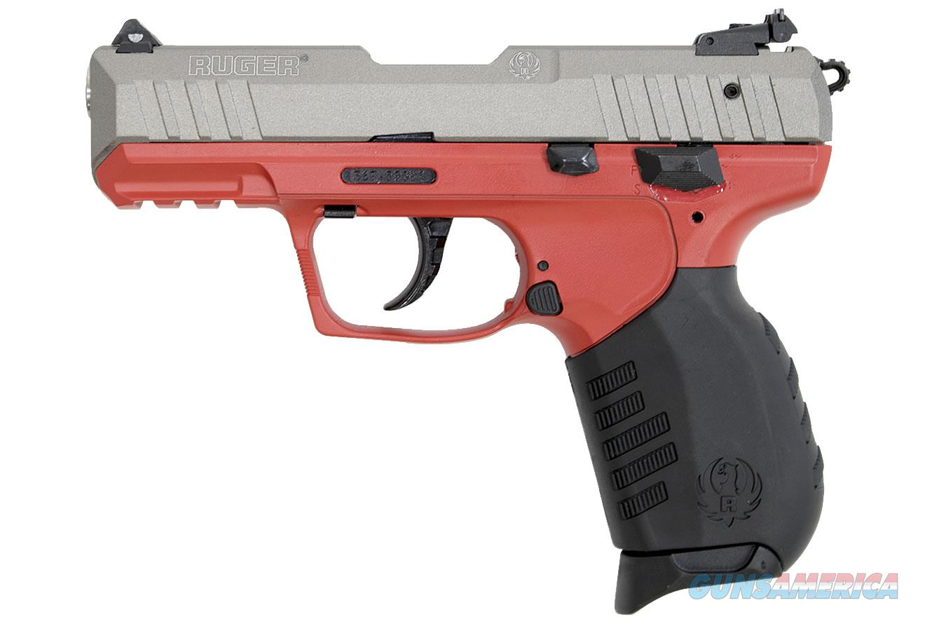 """Ruger SR22 Red/Gunmetal Gray .22 LR 3.5"""" 10 Rds 3632   Guns > Pistols > Ruger Semi-Auto Pistols > SR Family > SR22"""