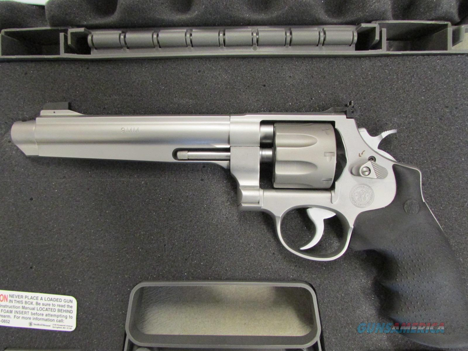 Smith & Wesson Model 929 Jerry Miculek Performance Center 9mm 170341  Guns > Pistols > Smith & Wesson Revolvers > Performance Center