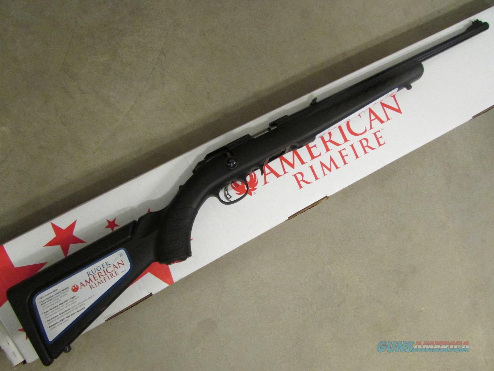 Ruger American Compact Bolt-Action .17 HMR 8313  Guns > Rifles > Ruger Rifles > American
