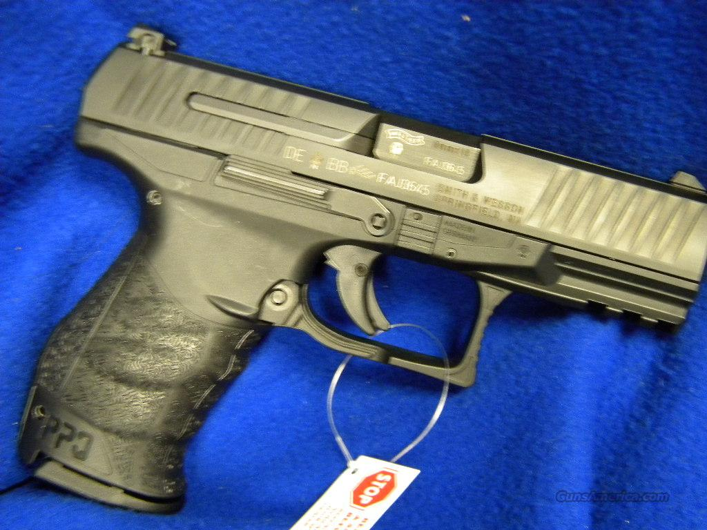 Walther PPQ 9mm Luger Pistol.  Guns > Pistols > Walther Pistols > Post WWII > P99/PPQ