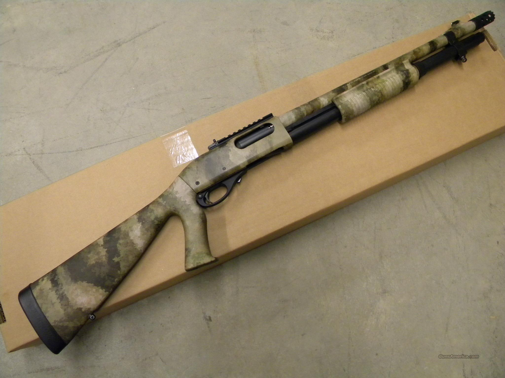 REMINGTON 870 TACTICAL ATACS PUMP SHOTGUN #81204  Guns > Shotguns > Remington Shotguns  > Pump > Tactical