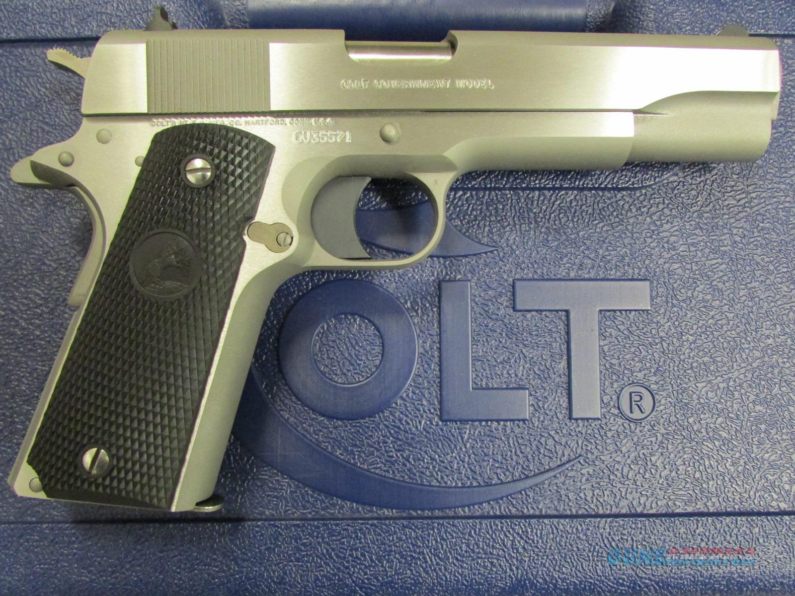 Colt 1991 Series Stainless Government 1911 .45ACP  Guns > Pistols > Colt Automatic Pistols (1911 & Var)