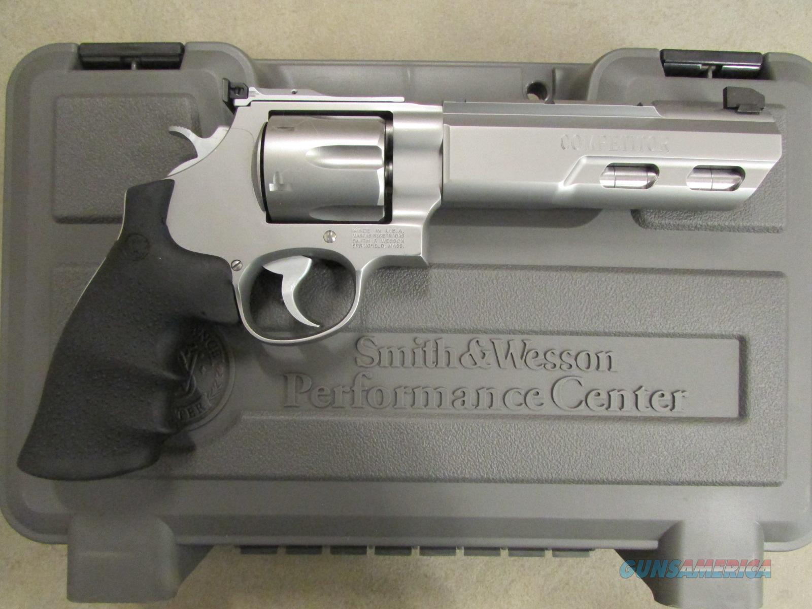 "Smith & Wesson Model 629 Competitor 6"" Weighted Barrel  Guns > Pistols > Smith & Wesson Revolvers > Performance Center"