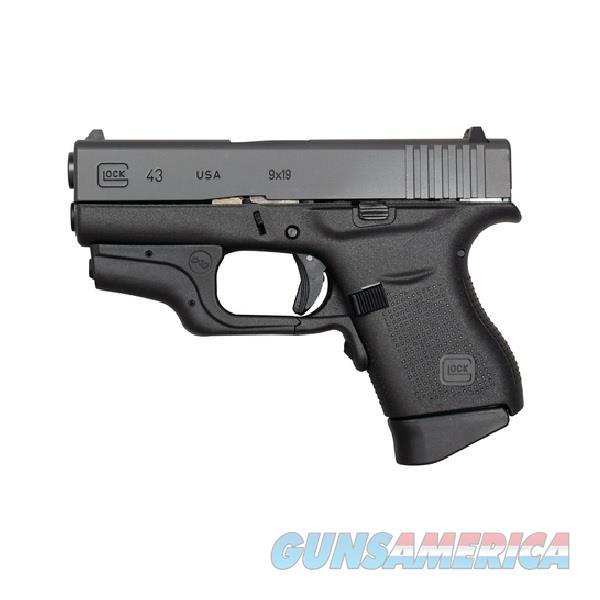 "Glock G43 Crimson Trace Laser 9mm 3.39"" 6 Rds UI4330201CTH   Guns > Pistols > Glock Pistols > 43"