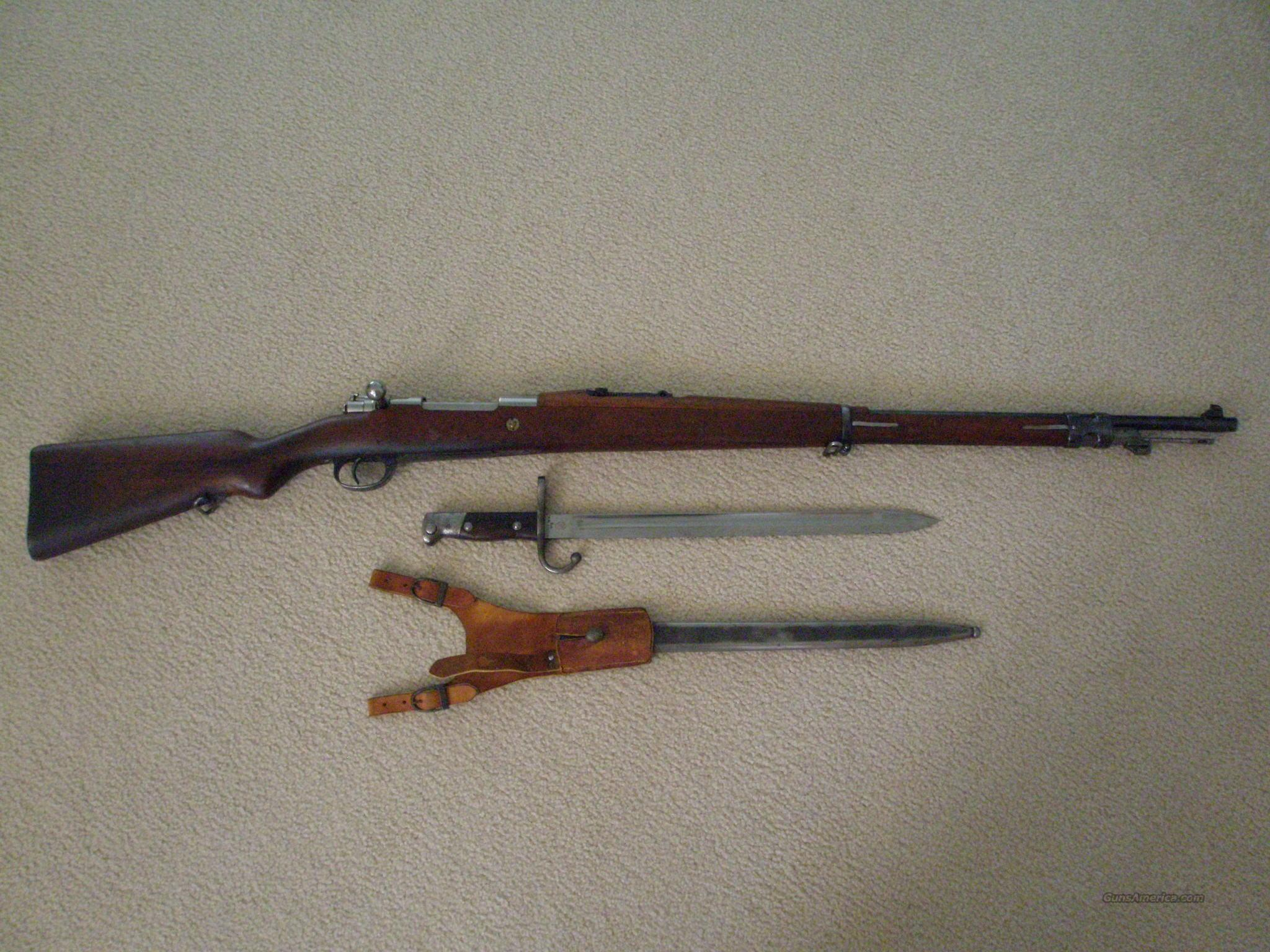 ARGENTINE M1909 7.65 MAUSER BOLT-ACTION RIFLE NON-IMPORT   Guns > Rifles > Military Misc. Rifles Non-US > Other